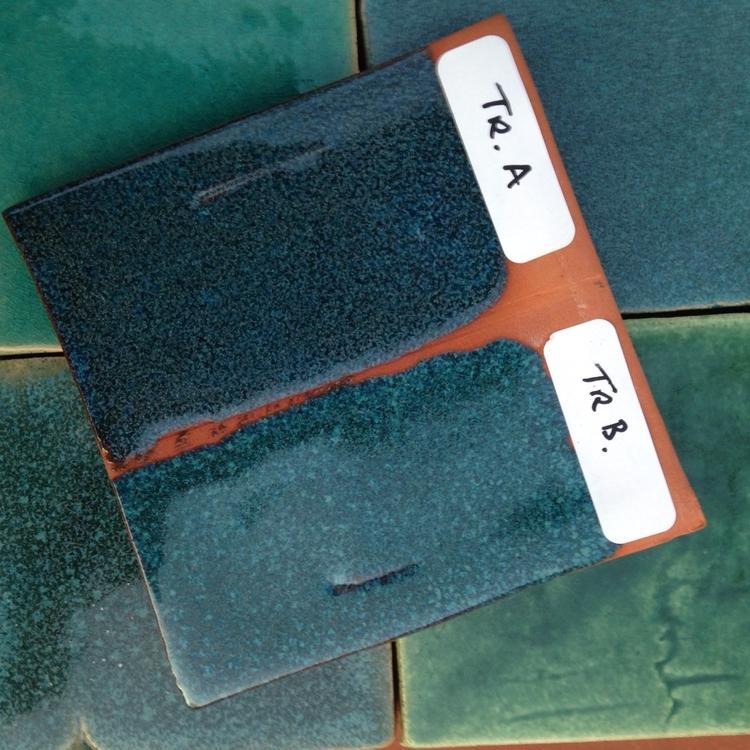 Turquoise Reactive Glazes